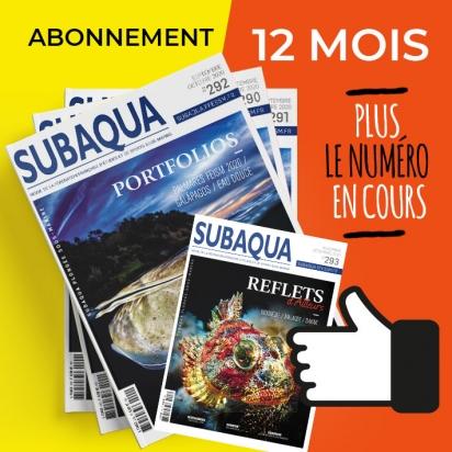 Abonnement Subaqua 12 mois + numéro en cours (non licenciés)