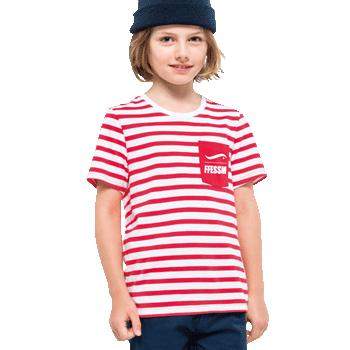 Tee-shirt FFESSM rayé enfant