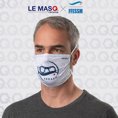 Masque FFESSM x Ceramiq (lot de 2)