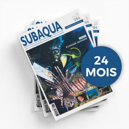 Abonnement 24 mois à la revue SUBAQUA non licencié