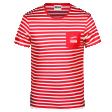 Tee-shirt rayé homme