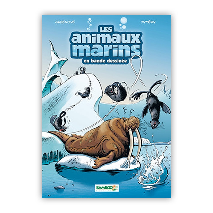 BD Animaux MArins Tome 4