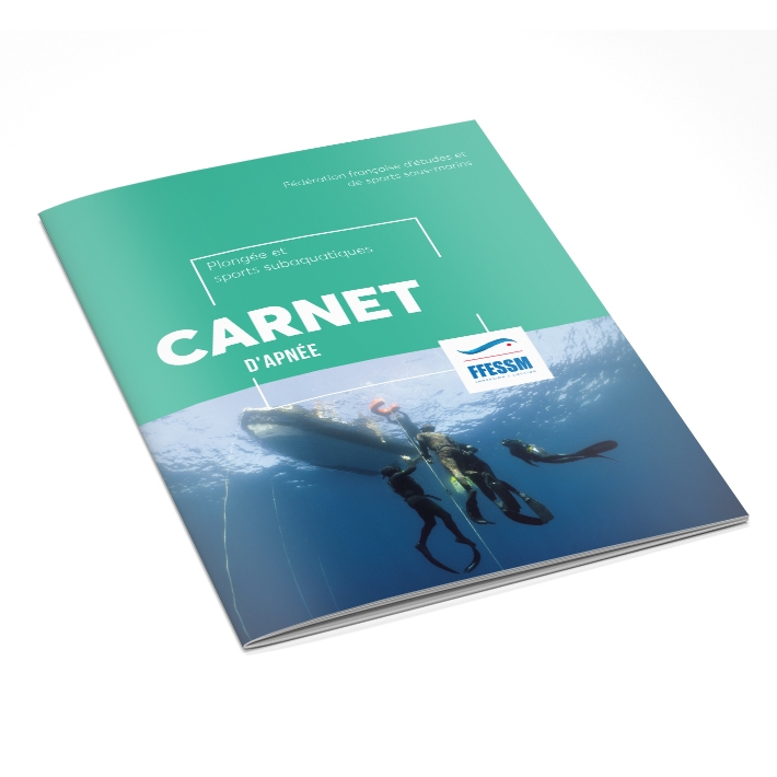 Carnet de plongée libre - Apnée