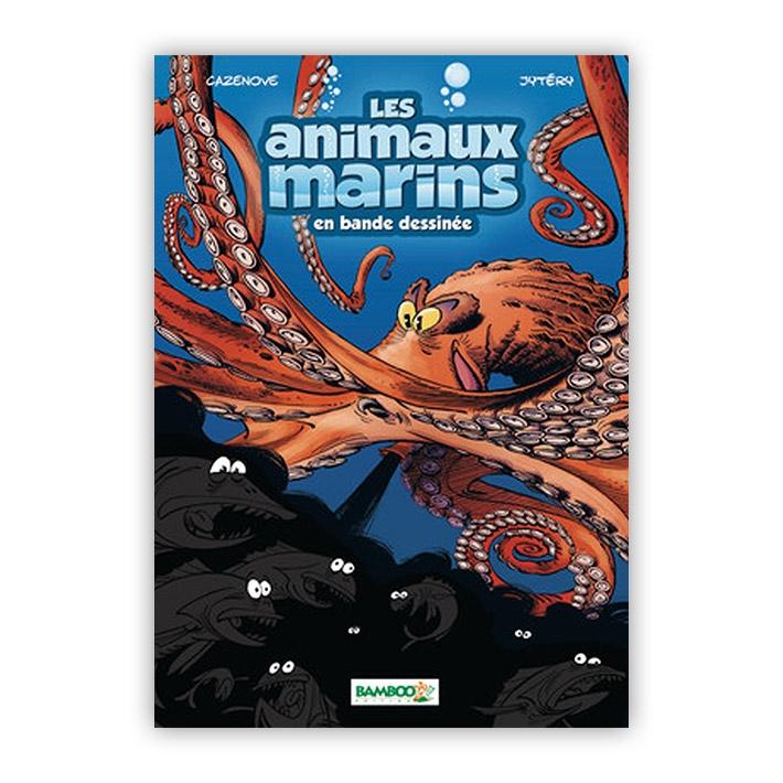 Les animaux marins en bande dessinée Tome 2