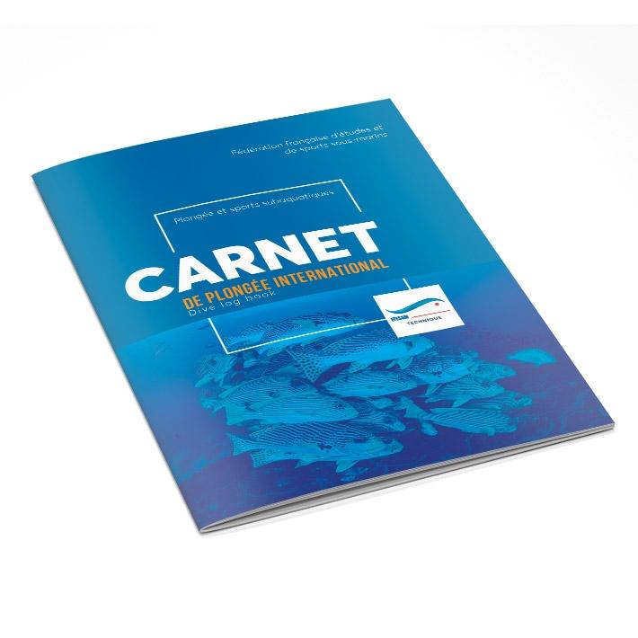 Carnet de plongée- 84 pages